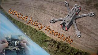 Juicy uncut - Open Field SBANG   FPV freestyle   Martian IV ❤   Emuflight   stick cam