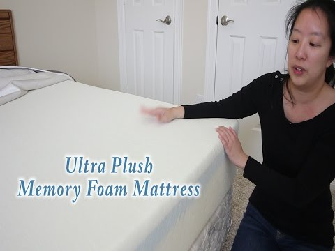 Perfect Cloud UltraPlush Gel-Max 10 Inch Memory Foam Mattress  – Review and Unboxing