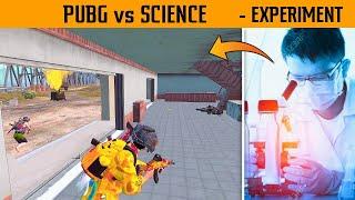 😁 PUBG vs SCIENCE Experiment vs Enemy in Last Circle in pubg mobile | Gamexpro