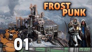 A cidade no buraco gelado | Frostpunk #01 - Gameplay Português PT-BR