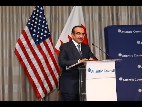 HE Interior Minister attends a conference by the Atlantic Council on US 11/4/2019