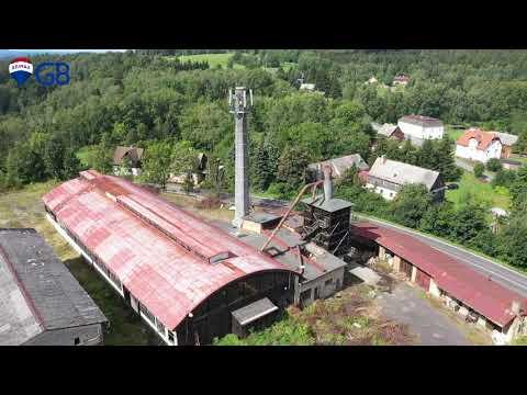 Video z << Prodej průmyslového areálu, 31888 m2, Rybniště >>
