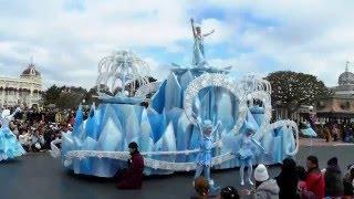 東京迪士尼 冰雪奇緣遊行下