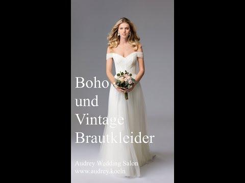 Die tollsten Boho und Vintage Brautkleider