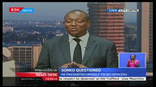 News Desk: Nairobi Senator Mike 'Sonko' Mbuvi presents himself to the DCI over utterances, 17/10/16