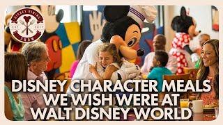 Character Dining Experiences We Wish Walt Disney World Had | Disney Dining Show | 02/15/19