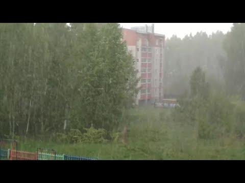 Снежная аномалия 31 мая в Кирове 2018