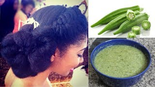 """CRAZY"" THINGS WE DO FOR HAIR GROWTH. HAVE YOU TRIED THE OKRO TREATMENT FOR SUPER HAIR GROWTH?"