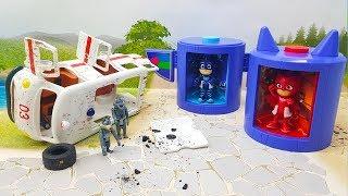 Видео для детей с новыми игрушками Герои в масках - Добрый Ромео! Игрушечные мультики для детей 2018