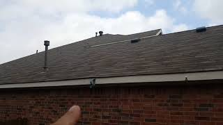 New roof installed
