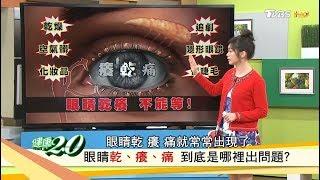 眼睛乾癢不能等,小心乾眼症上身!怎麼改善與預防?健康2.0 (完整版)