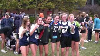 preview picture of video 'TDESSA XC Grade 8 Girls City Finals 21 Oct 2010'