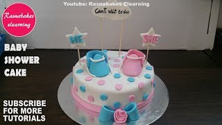 baby shower cake designs simple