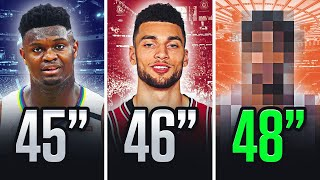 Top 10 Highest Vertical Jumps In The NBA