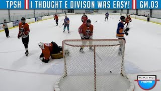 I thought E Division Was Suppose To Be Easy! | GoPro Hockey Goalie [HD] - GAME 4