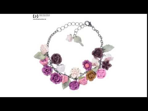 Finest-Trachten.de: Armband Rosenzauber von Schlick Accessoires
