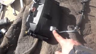 Brake Caliper and Brake line Replacement F150 DIY