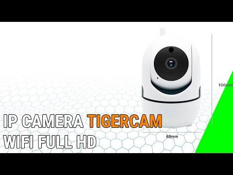 IP camera TigerCam WiFi Full HD 2019 - Предимства