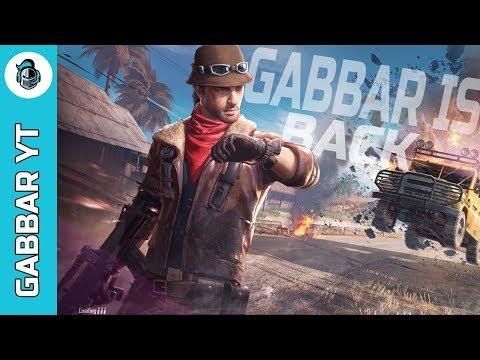PUBG MOBILE LIVE WITH GABBAR YT |  Gabbar IS Back