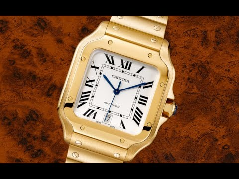 Gordon Gekko Has a New Watch: The New Cartier Santos de Cartier Collection