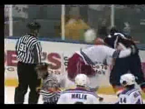 Chris Simon vs. Colton Orr