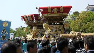 住吉神社(谷八木) 布団太鼓