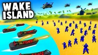 ᐈ NEW D-DAY Omaha Beach LANDING Battle! (Ravenfield New Map
