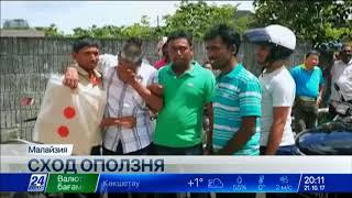 Трое рабочих стали жертвами оползня в малазийском Джорджтауне