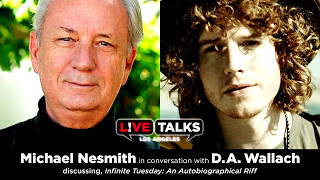 <b>Michael Nesmith</b> In Conversation With DA Wallach At Live Talks Los Angeles