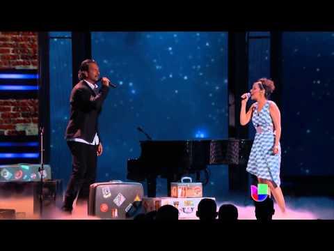 ***Ricardo Arjona y Gaby Moreno cantan  Fuiste Tú  en Premio lo Nuestro 2015****