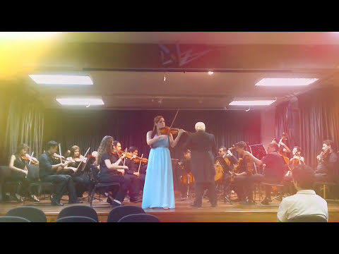 Valeria Ortega-Palacio/Soloist- A.Vivaldi- Winter, III movement -Allegro