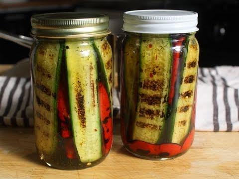 Pickled Grilled Pickles – Pickled Grilled Vegetables