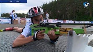 В Пестове проходят всероссийские соревнования по летнему пневматическому биатлону
