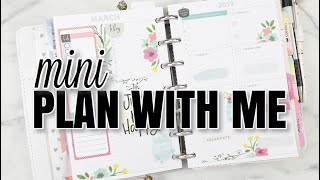 Weekly Mini DASHBOARD Plan With Me | At Home With Quita