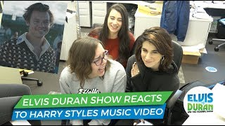 Elvis Duran Morning Show Reacts To Harry Styles 'Adore You' Music Video | Elvis Duran Exclusive