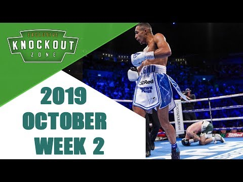 Boxing Knockouts   October 2019 Week 2