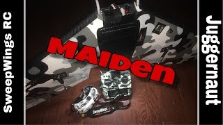 Maiden ????/ My first wing build and fixed wing FPV flight