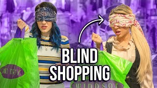 Blindfolded Shopping Challenge! Niki and Gabi