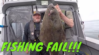 Halibut Fishing Fails! Snapped My Fishing Rod Fighting MONSTER Halibut. | Addicted Life Ep. #9 🤘🎣