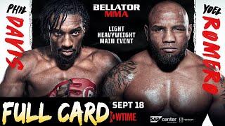 Bellator 266 Davis vs. Romero Full Card Predictions & Betting Tips