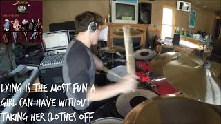 Lying Is the Most Fun  a Girl Can Have Without... [Panic! At the Disco] HD Drum Cover