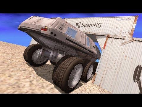 BeamNG Drive - IMPOSSIBLE CAR STUNTS #13