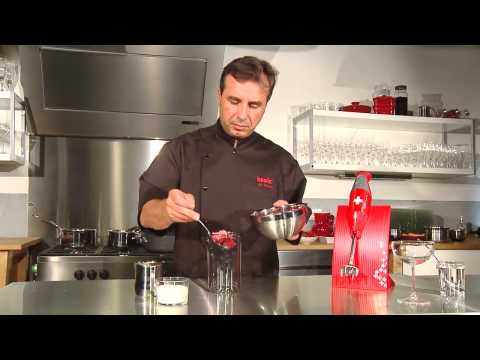 bamix® Demonstration of chef Jean-Claude Fascina