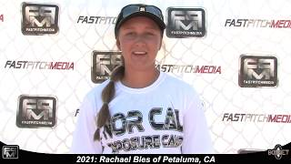 2021 Rachael Bles Power Hitting Shortstop Softball Skills Video