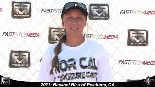 2021 Rachael Bles Power Hitting Shortstop Softball Skills Video