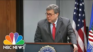 Attorney General Barr Considered Resigning Over Trump's Tweets | NBC Nightly