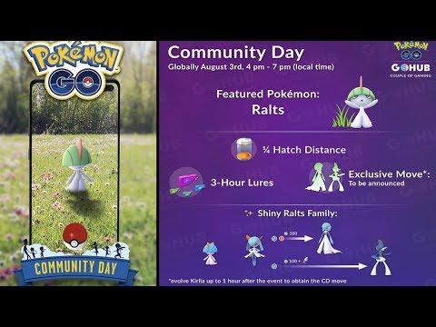 SHINY RALTS COMMUNITY DAY CONFIRMED FOR POKEMON GO! SHINY
