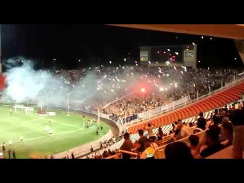 """""""Recibimiento Independiente Rivadavia - Copa Vendimia"""" Barra: Los Caudillos del Parque • Club: Independiente Rivadavia"""