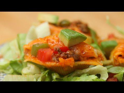 Enchilada-Inspired Stuffed Shells