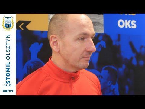 Adam Majewski o przygotowania do rundy wiosennej I ligi